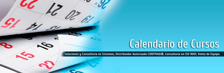 banner calendario cursos